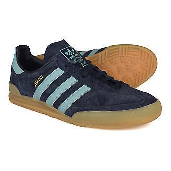 Adidas originaler Jeans natt marinen semsket trenere S79997