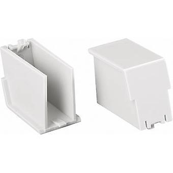 Phoenix Contact BC 17,6 BS U22 KMGY DIN Schiene Gehäuse (Einfüllschraube) 17,6 Polycarbonat (PC)-hellgrau 1 PC