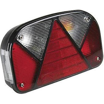 Unitec Trailer tail light Multipoint Turn signal, Brake light, Tail light, Number plate light, Reversing lamps right, rear 12 V