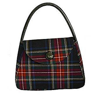 Tartan S Handbag (Stewart Black)
