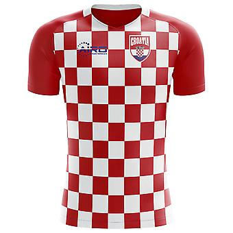 2018-2019 Croazia bandiera concetto Football Shirt (Kids)
