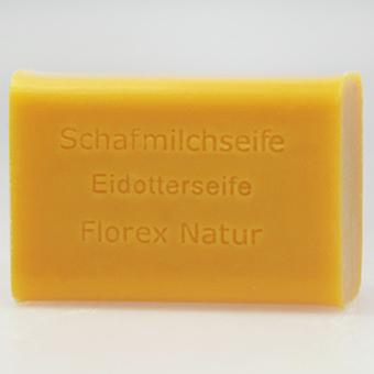 Florex sheep milk SOAP yolk 100 g piece square maintains and smoothes the skin scented oils new suppleness