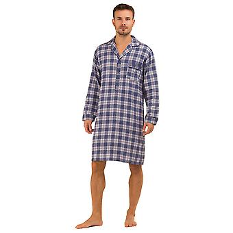 Haigman Printed Brushed Cotton Nightshirt Sleepwear