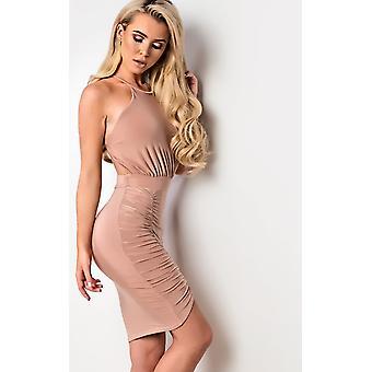 IKRUSH Womens Kendall  Bodycon Wrap Dress