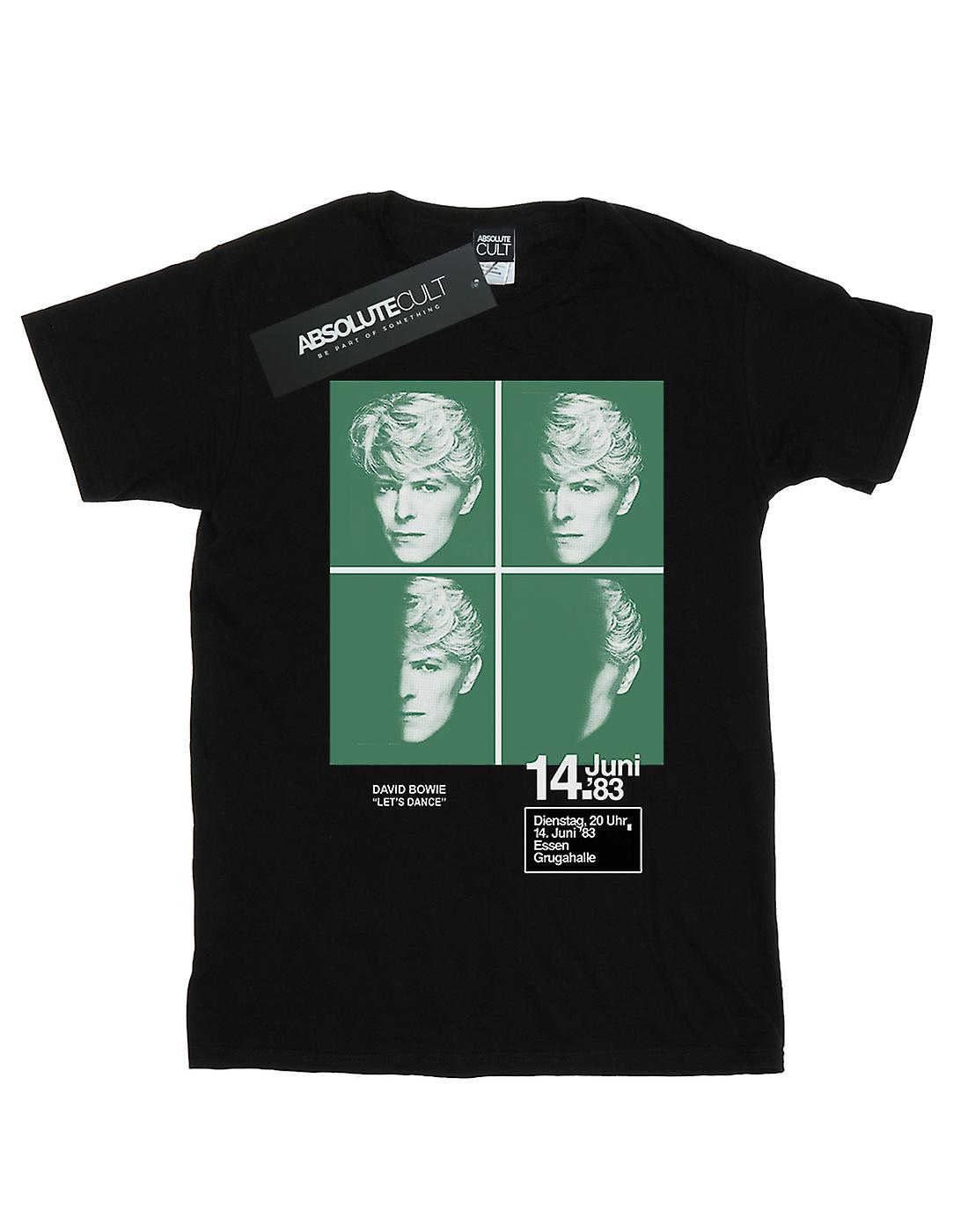 David Bowie Men's 1983 Concert Poster T-Shirt
