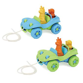 Green Toys Beach Buggy Pull Along Toy