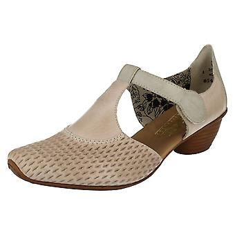 Zapatos de damas inteligentes Rieker T-Bar 43736