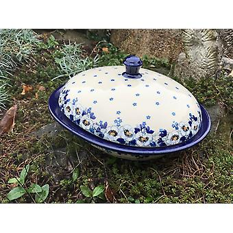 Serving bowl / cheese cover with lid, Lady, BSN A-0924
