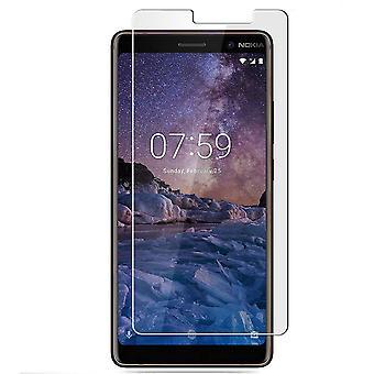 ノキア7プラス強化ガラススクリーン保護小売