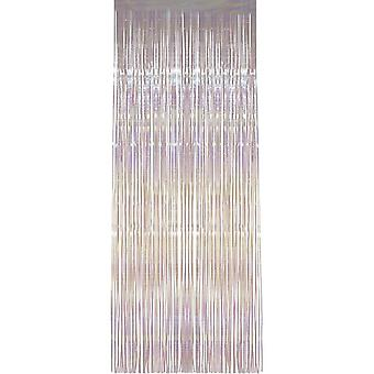 Shimmer Curtain, Iridescent White