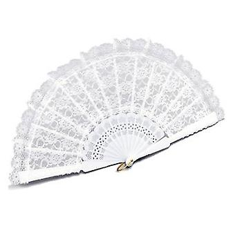 White Lace Fan.