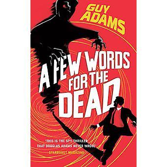 男・ アダムス - 9780091953195 本で死者のためのいくつかの単語