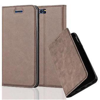 Cadorabo Hülle für Honor 9 Case Cover - Handyhülle mit Magnetverschluss, Standfunktion und Kartenfach – Case Cover Schutzhülle Etui Tasche Book Klapp Style