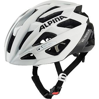 Alpina Valparola fiets helm / / wit/zwart
