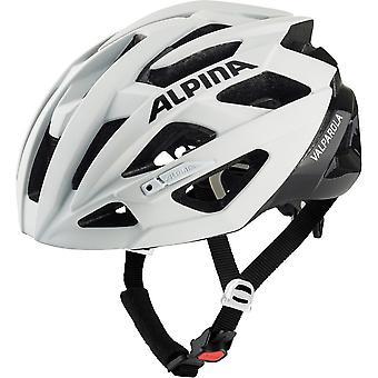 Alpina Valparola sykkel hjelm / / hvit/svart