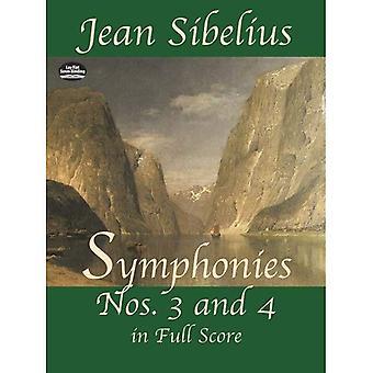 Symfonieën Nos. 3 en 4 in volledige Score