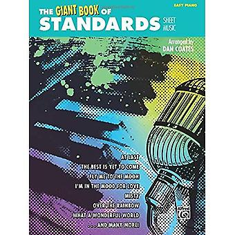 The Giant Book of Standards Sheet Music: Easy Piano (Giant Book of Sheet Music)