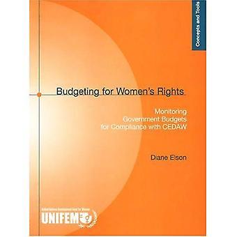 Budgetering för kvinnors rättigheter: övervaka statsbudgetarna för efterlevnaden av CEDAW (begrepp och verktyg)