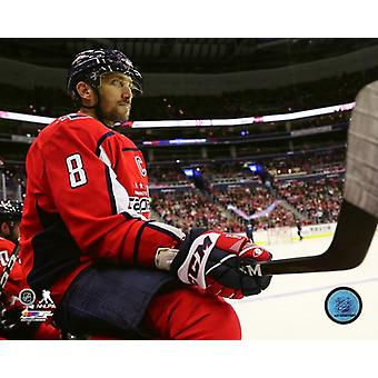Alex Ovechkin 2018-19 Action Photo Print