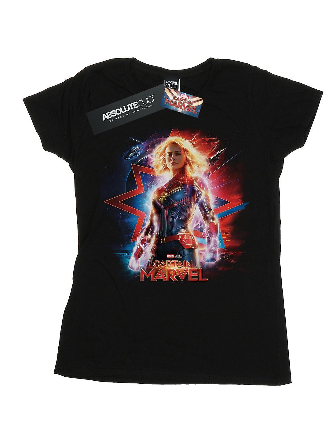 Marvel Women's Captain Marvel Poster T-Shirt