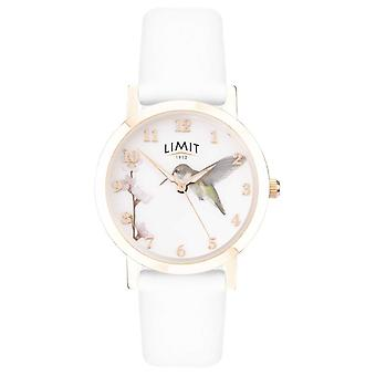 Limite | Jardin Secret Mesdames | Bracelet en cuir blanc | 60027.73 watch