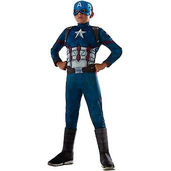 Civil War. Captain America Costume For Children