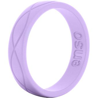 Enso Rings Women's Infinity Series Silicone Ring - Lavender