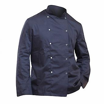 Dennys Mens Economy Long Sleeve Chefs Jacket / Chefswear (Pack of 2)