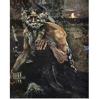 Pan,Mikhail Vrubel,50x40cm