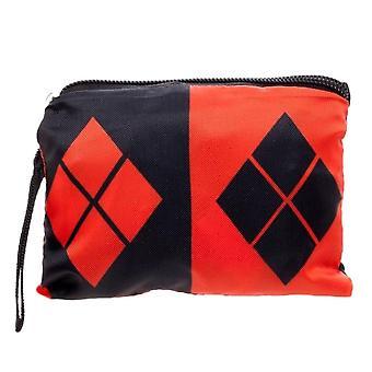 DC Comics Harley Quinn packable tote taske