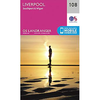 Liverpool - Southport & Wigan by Ordnance Survey - 9780319262061 Book