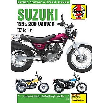 Suzuki RV125 & 200 Van Van Service and Repair Manual 2003-2016 by Phi