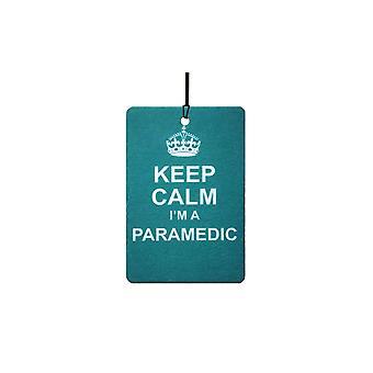 Keep Calm jeg en paramediciner bil luftfriskere