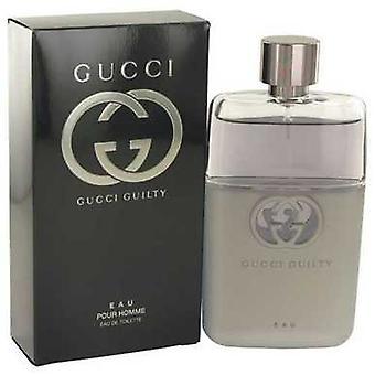 Gucci Guilty Eau de Gucci Eau De Toilette Spray 3 Oz (hommes) V728-533304