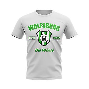 Wolfsburg Established Football T-Shirt (White)