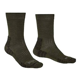Bridgedale Hike Lightweight Performance Dark Green Sock