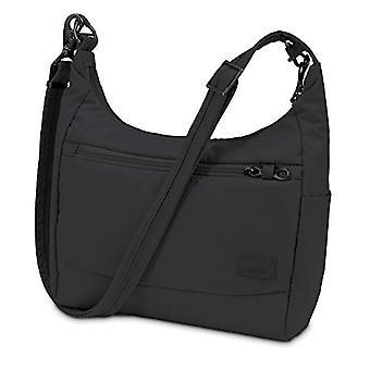 PacSafe Citysafe CS100 anti-theft travel handbag Bag Messenger 30 cm 5 liters Black (Black 100)