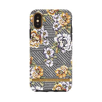 Richmond & Finch shells voor IPhone XS Max-Floral Tweed