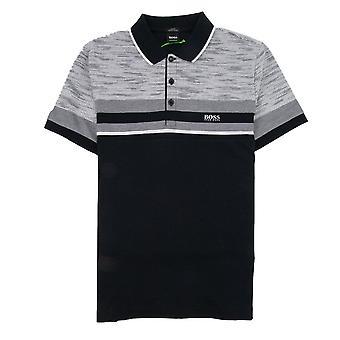 Hugo Boss Paule 5 Short Sleeve Polo Shirt Black/grey
