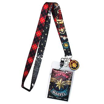 Captain Marvel film Lanyard