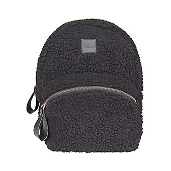 Urban Classics Sherpa Mini Backpack Bag Messenger - 25 cm - Black (Black)
