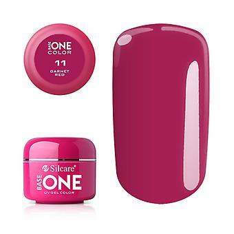 Base one-Color-Garnet red 5g UV Gel
