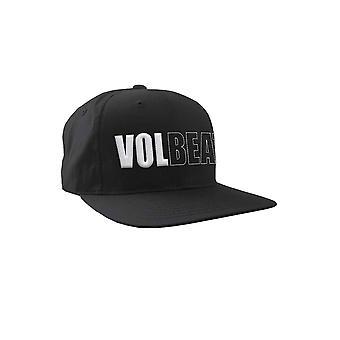 Volbeat Baseball Cap 3D Band Logo new Official Black Snapback