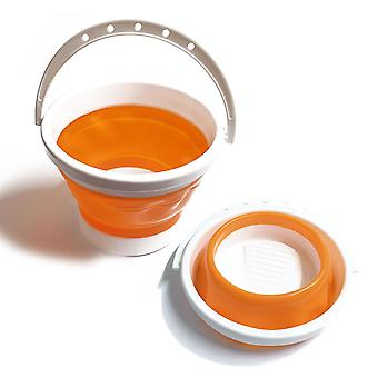 Soft Plastic Collapsible Travel Water Cup for Painting 19.5 cm