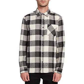 Volcom Neo glitch shirt met lange mouwen in witte flits