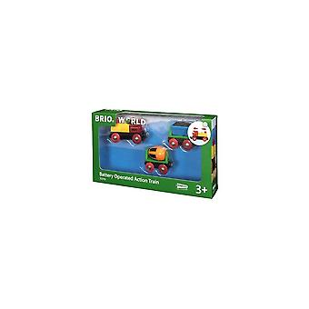 Brio 33319 Brio  - Battery Operated Action Train