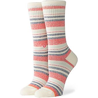 Stance Crossroad Crew Socks in Cream