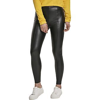 Urban Classics Ladies - Imitation Skinny Pants black