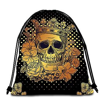 Toalla Floral King Skull Beach