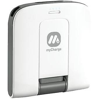 myCharge 2000mAh Rechargeable Backup Battery Power Bank for iPod/iPhone, Android & Blackberry Devices
